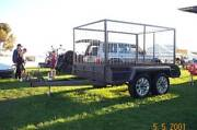 8X5 CAGED HEAVY DUTY BOX TRAILER Adelaide CBD Adelaide City Preview