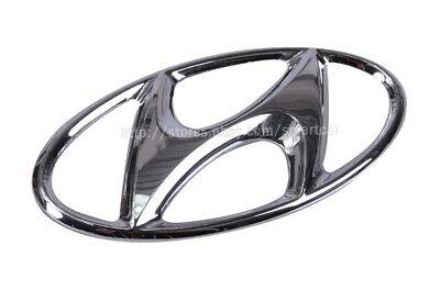 Hyundai H-1 Starex 2001-2003 OEM GENUINE Parts Front H Logo Emblem 863414A000