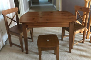 Children's Desk and Chairs (IKEA)
