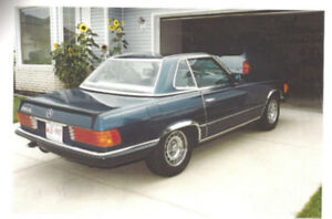 RARE 1984 Mercedes 500 SL-2 Tops-Convertible+Hardtop Mint