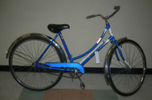 Vintage Ladies Blue Raleigh Road Bike for Sale