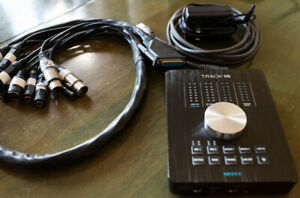 Interface audio et MIDI MOTU Track 16