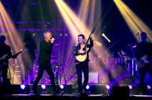 GLASS TIGER - AMAZING 2ND ROW CENTRE FRONT FLOOR SEATS !!!