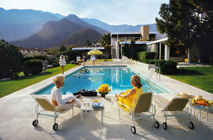 Wall art - Poolside Glamour by photographer Slim Aarons Downtown-West End Greater Vancouver Area image 1