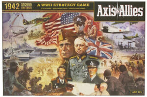 Axis & Allies Spring 1942 Avalon Hill Board Game