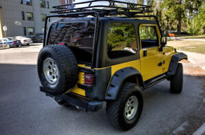 2004 Jeep TJ Rocky Mountain Edition & Treeline Rooftop Tent