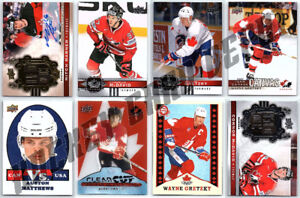 FOR SALE - 2017-18 UD CANADIAN TIRE TEAM CANADA Hockey Cards