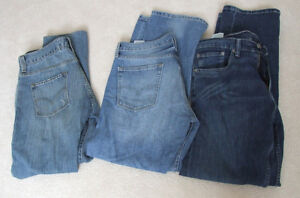 3 Pairs of Levis Jeans, 34x30, New, $100 Retail,