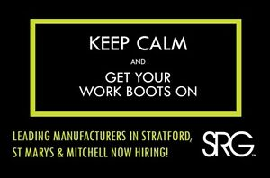 Entry Level Career Positions - Stratford/StMarys/Mitchell Stratford Kitchener Area image 1