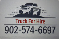 Truck For Hire 8FT box