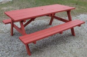 Table à pique-nique 5 et 6 pieds - 5 and 6 feet picnic Table