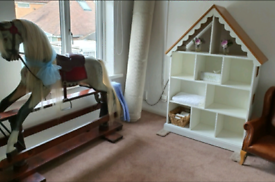 Laura Ashley bookcase (dolls house) Display unit
