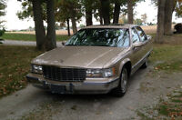 Modern Classic - 1996 Cadillac Fleetwood Brougham - very low kms