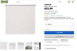 Ikea Tupplur Blackout Curtain