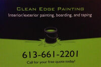In need of painting services? Call Clean Edge Painting