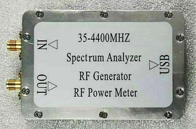 Plz35-4400mhz Usb Simple Spectrum Analyzer Rf Signal Generator Rf Power Meter