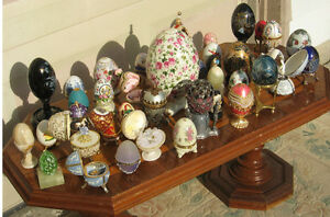 Faberge style Egg Collection