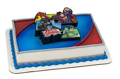Justice League Supheroes cake decoration Decoset cake topper set toys - Justice League Cake