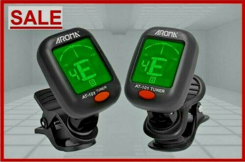 Aroma AT-101 Digital Clip-On Electric Guitar Tuner