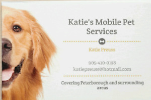 Katie's Mobile Pet Services