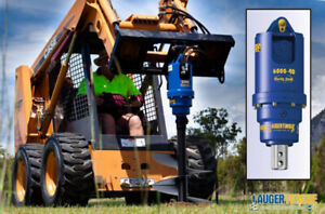 SKID STEER AND EXCAVATOR AUGER / ANCHOR DRIVES