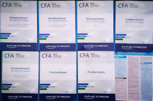 2019 CFA Level 2 Schweser notes and practice exams