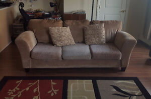 Olive colored Couch From The Brick