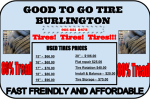 Used Tires Not So Used!!!!  All Sizes New tires also.