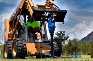 SKID STEER & EXCAVATOR AUGER DRIVES & ANCHOR DRIVE