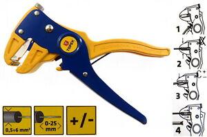 automatische Abisolierzange Kabelschneider Cuttermesser Kabelzange 0,5-6mm