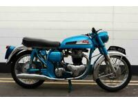 1962 Norton 650SS - Very Rare In Blue From Factory - Matching Numbers !