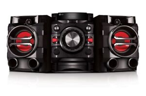 LG Hi-Fi Entertainment System with Bluetooth