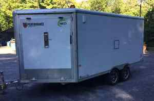 2015 Neo 8.5x18' Enclosed Aluminum V-Nose Trailer