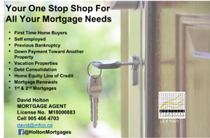 Your One Stop Shop For All Your Mortgage Needs!