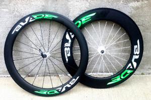 Blade Carbon Wheel Set 60-88mm Road Bike/Triathlon