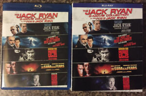 Jack Ryan 5-Movie bluray Collection with slipcover
