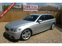 2014 BMW 5 Series 2.0 520D M SPORT TOURING 5d 188 BHP Estate Diesel Automatic