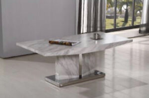 Marble Design Coffee Table + Dining Table SPECIAL OFFER