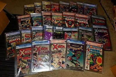 1 CGC Graded book Grab Bag 9.8 9.6 9.4 Marvel DC Indy ONLY 1 ON EBAY 20 comics!!
