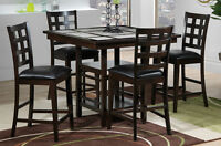 BEAUTIFUL DINING SET - less than a year old from Leon's!