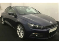 2012 VW SCIROCCO 2.0 TDI 170 GT GOOD / BAD CREDIT CAR FINANCE FROM 44 P/WK