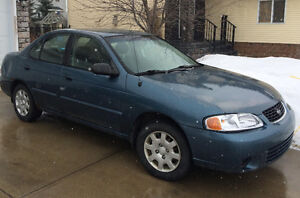 2002 Nissan Sentra Sedan Reduced Price !