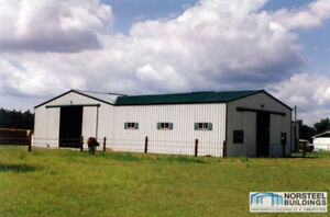 Steel Buildings- Clearance Prices PLUS AN ADDITIONAL 200$ off