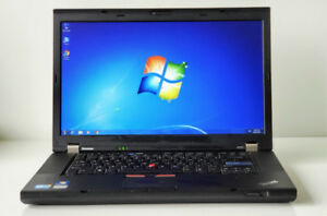 Lenovo Thinkpad W510 - Laptop | 256 GB SSD | Nvidia 1GB GPU