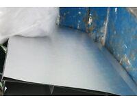 Stucco aluminium sheets. Grow Room, hydroponics, grow lamps, Caravan repairs. 2m x 1m sheets