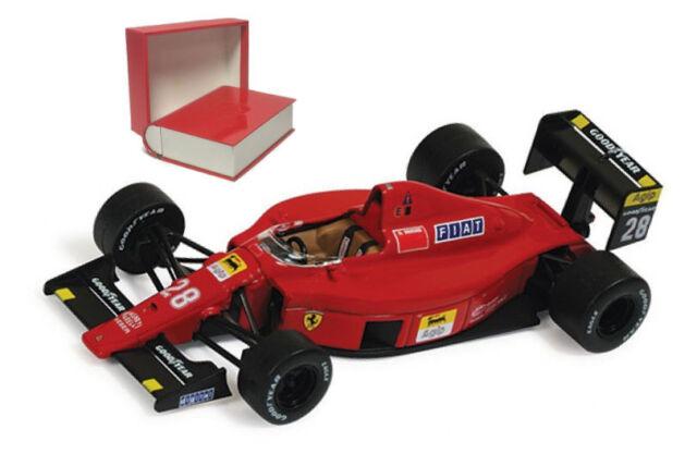 IXO SF30/89 Ferrari 640/F1 89C #28 Portugal GP 1989 - Gerhard Berger 1/43 Scale