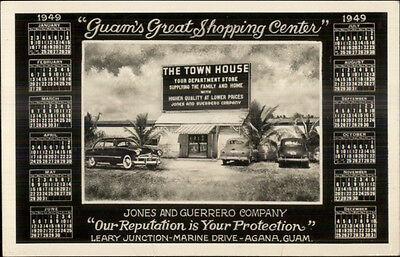 Agana Guam Town House Department Store Jones & Guerrero Co Real Photo Postcard
