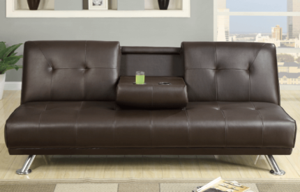 ***BRAND NEW***ADJUSTABLE SOFA BED WITH DRINK HOLDERS