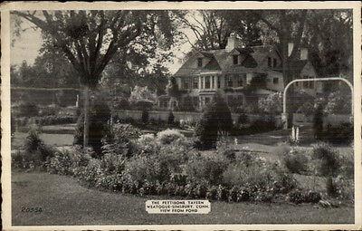 Weatogue Simsbury Ct Pettibone Tavern Postcard