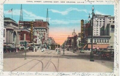 New Orleans Canal Street looking east gl1931 222.022
